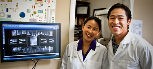 Dr. Phyllis Chen and Dr. Michael Nguyen